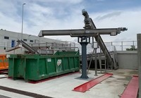 Stainless steel Screw - Auger conveyor dosing and transport materials | SEFT